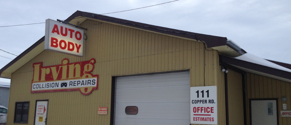 Front of Irving Collision shop 2