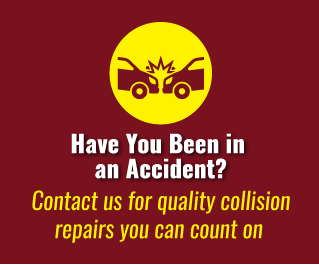 Have You Been in an Accident? - Contact us for quality collision repairs you can count on